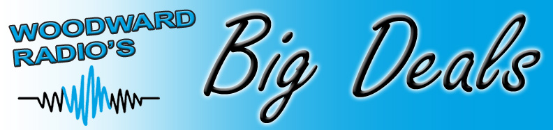 Woodward Radios Big Deals