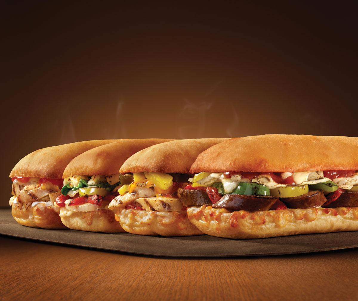 chicken parmesan sandwich dominos
