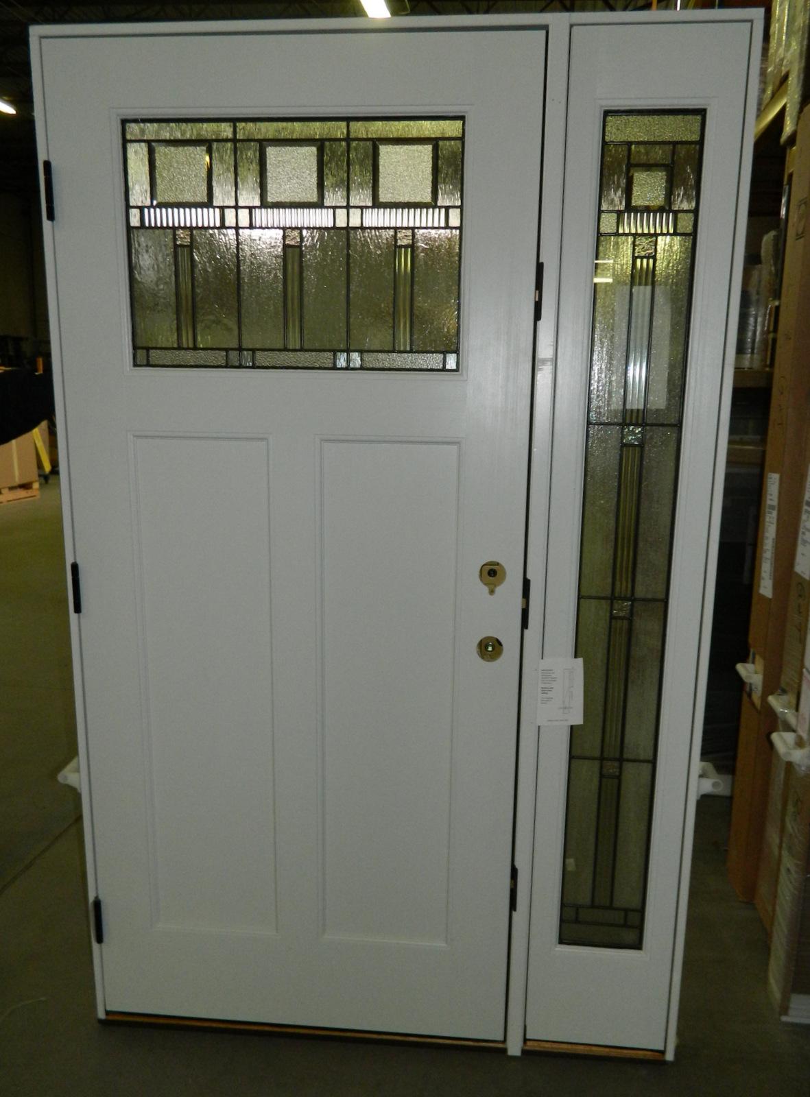 Pella Windows and Doors Door - Entry Door, Architect Series 1280 2-wide inswing with Sidelight